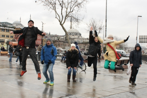 Our fifth attempt at an Istanbul jump!