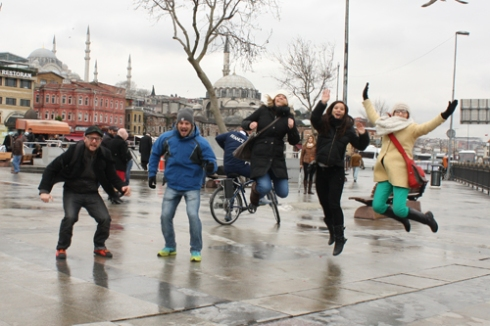 Our sixth attempt at an Istanbul jump!