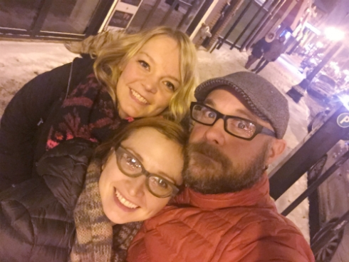 Valentine's Day 2016 with KB and Emily!