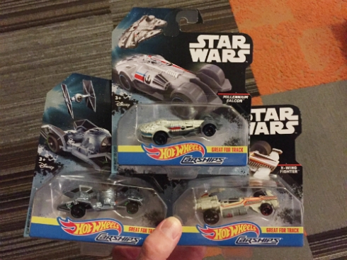 Star Wars Hot Wheels Carships designed by Dima!