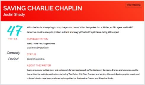 """Saving Charlie Chaplin"""