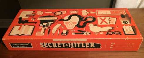 """Secret Hitler"" from a Secret Santa!"