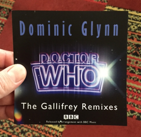 "Dominic Glynn's ""Doctor Who: The Gallifrey Remixes."""
