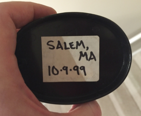 Salem, Massachusetts: 10/9/99