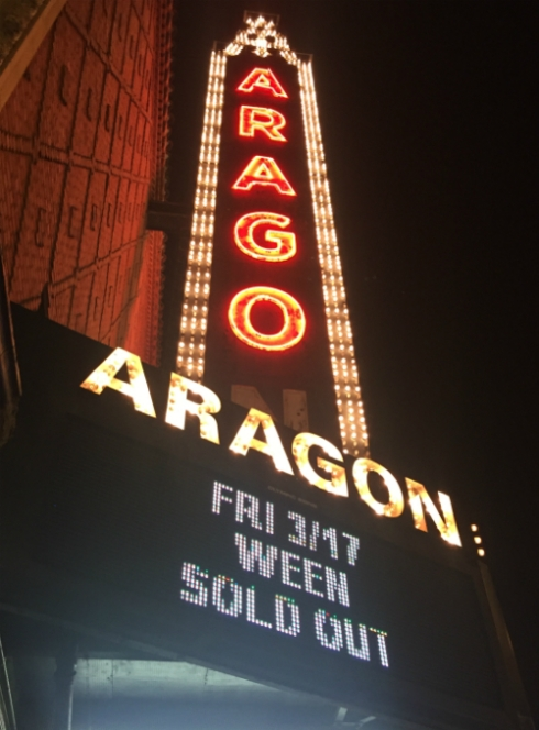 Ween at Aragon Ballroom on March 17th, 2017!