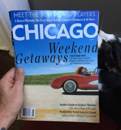 """Chicago"" mag featuring both Shadys! Heisenberg digs it!"