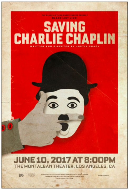 "Black List Live! Presents ""Saving Charlie Chaplin"""