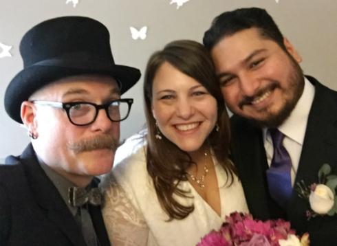 Wedding #1 was a success!