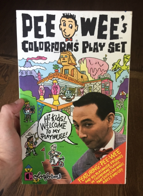 Pee-wee Colorforms!