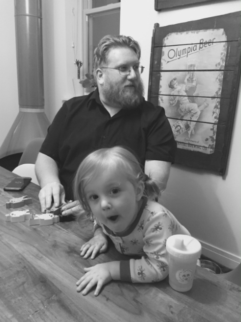 Grey loves Uncle Latta!