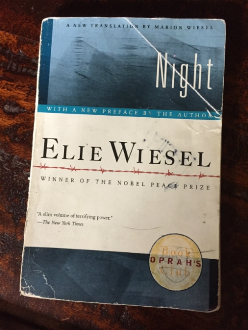 """Elie Wiesel's """"Night."""""""