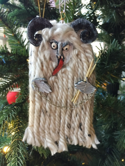 The 2017 Krampus ornament!