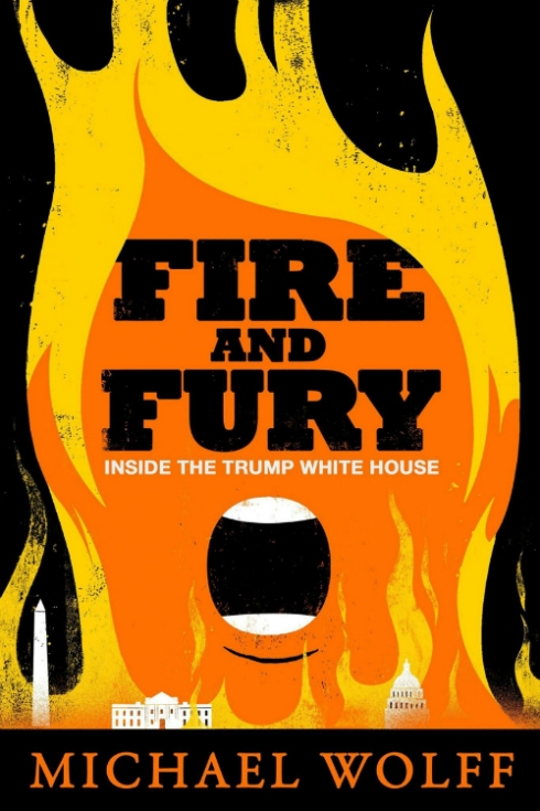 "Edel Rodriguez's ""Fire and Fury"" cover that should've been."