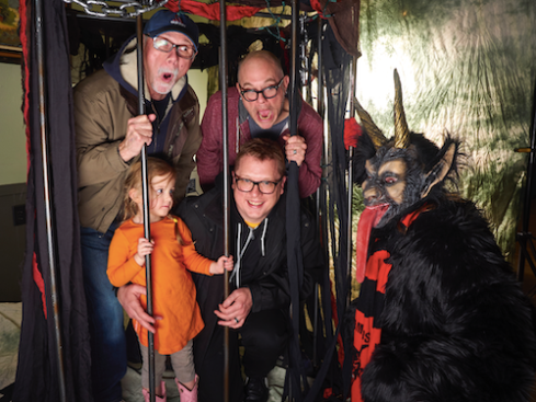 ...we are still just trapped in Krampus' cage!