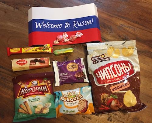 Russian treats!