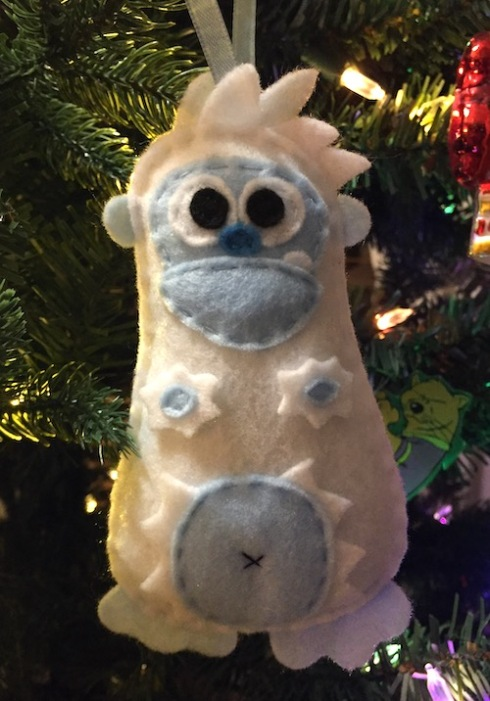 West's 2018 Yeti ornament!