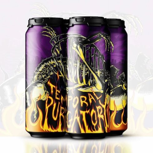 18th Street Brewery's Temporal Purgatory artwork by Erik Rose!