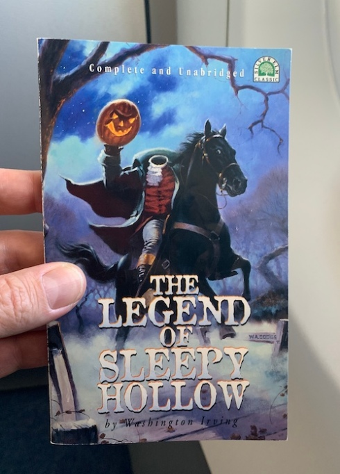 """The Legend of Sleepy Hollow"" by Washington Irving."
