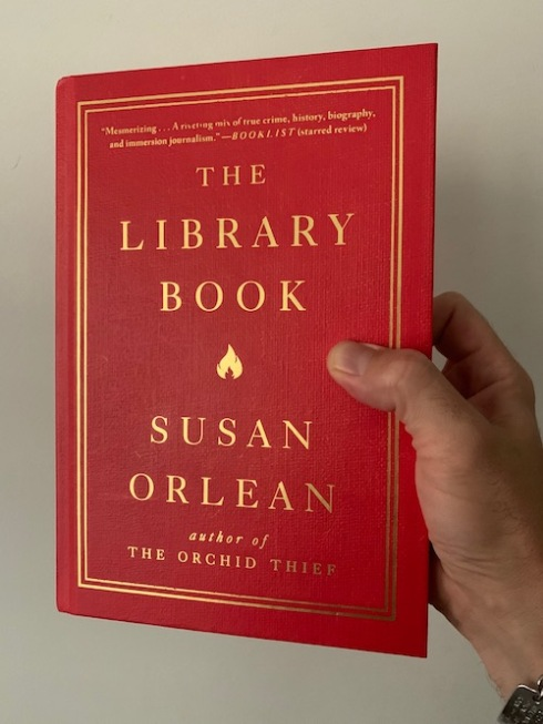 """The Library Book"" by Susan Orlean."