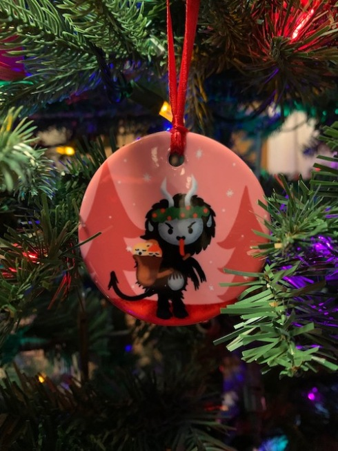 It's our 2019 annual Krampus ornament!