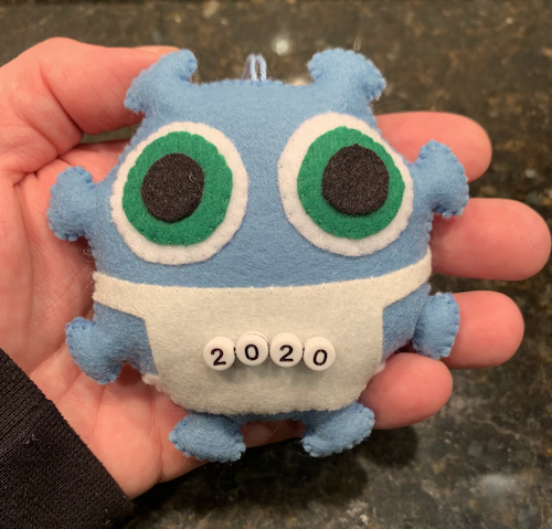 Grey's 2020 Monster Ornament!
